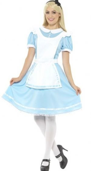 Adorable Alice in Wonderland plus size fancy dress costume